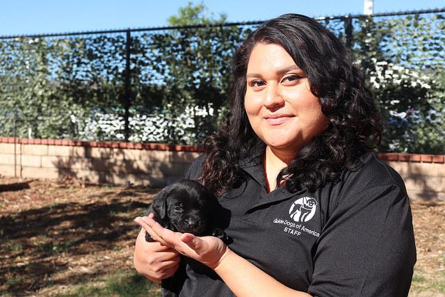 Melcy Gutierrez, Breeding Department Tech