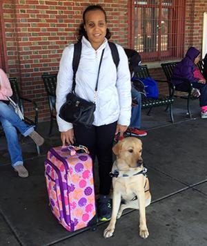 kassandra, tag, guide dog, graduate